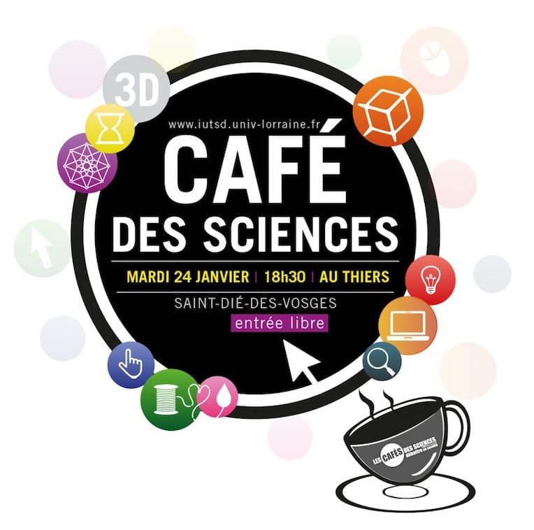 CIRTES présent au Café des Sciences «Impression 3D»