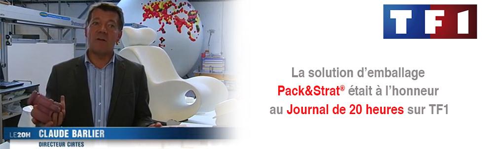 Le système d'emballage Pack&Strat sur TF1