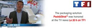 The packaging system Pack & Strat on TF1
