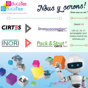 CIRTES au salon Educatec – Educatice