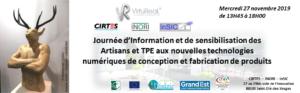 Journée Artisans-TPE : nouvelles technologies numériques de conception et fabrication