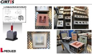 Groupe LIVIO, PEDUZZI crée une usine de fabrication additive par la Stratoconception de CIRTES